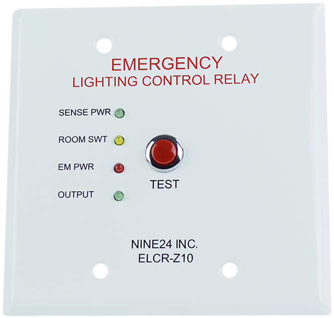 ELCR Z10 emergency lighting controls elcr z10 nine 24 inc 924  at creativeand.co